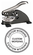 DS158 - DS-158 EMBOSSING SEAL WITH SEAL BORDER